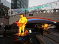 ソウル 清渓川 ランタンフェスティバル