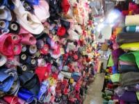 ソウル 広蔵市場 シルクのお店