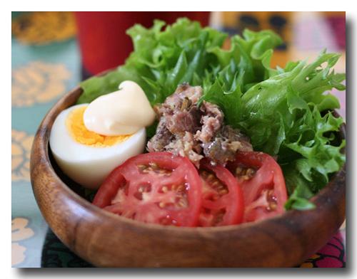 オイルサーディン サラダ