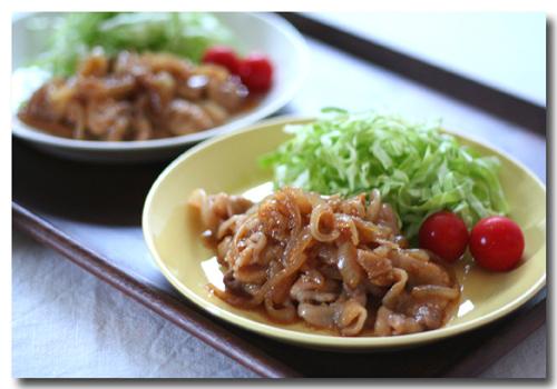 タモリさんの生姜焼き