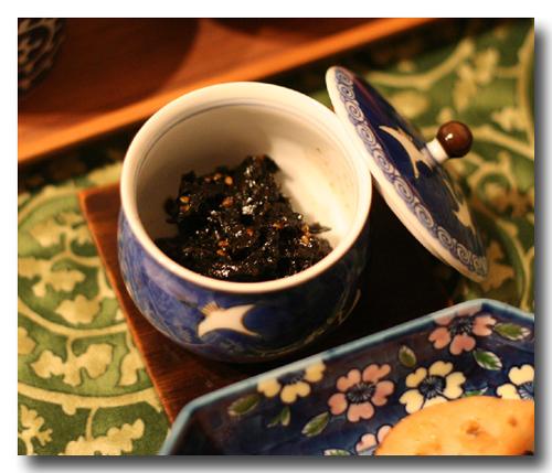 焼き海苔佃煮』