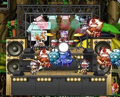 コンサート椅子4人