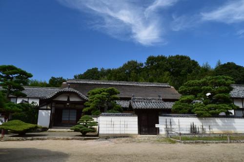 備中国分寺かやぶき屋根DSC_0966