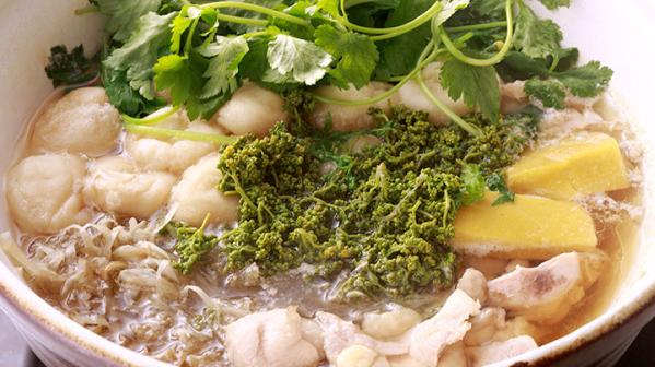 花山椒と鶏鍋