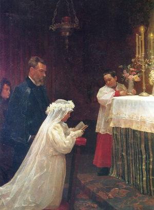 初聖体拝受