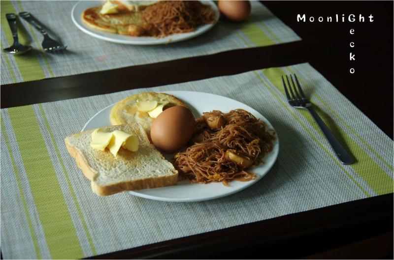 朝食ミーゴレン