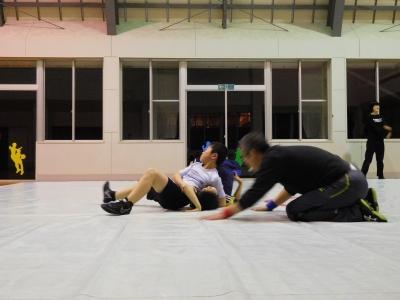 レスリング練習 062