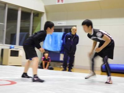 レスリング練習 015