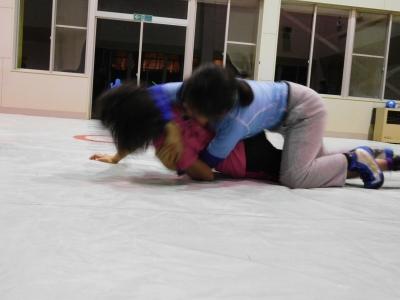 レスリング練習 012