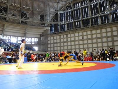 レスリング北日本大会 129