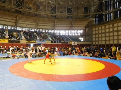 レスリング北日本大会 133