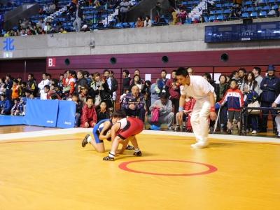 レスリング北日本大会 120