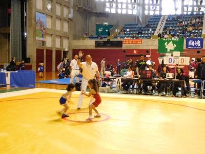レスリング北日本大会 113