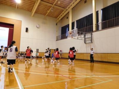 バスケ練習試合 009
