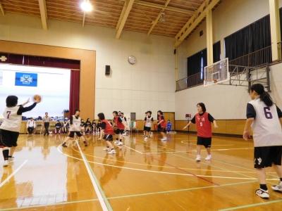 バスケ練習試合 008