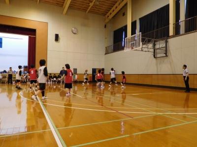 バスケ練習試合 006