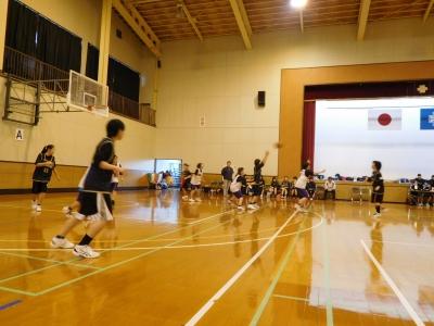 バスケ練習試合 022