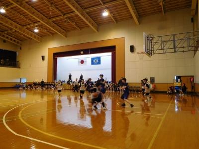 バスケ練習試合 014