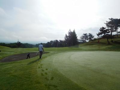 男鹿早朝ゴルフ 022