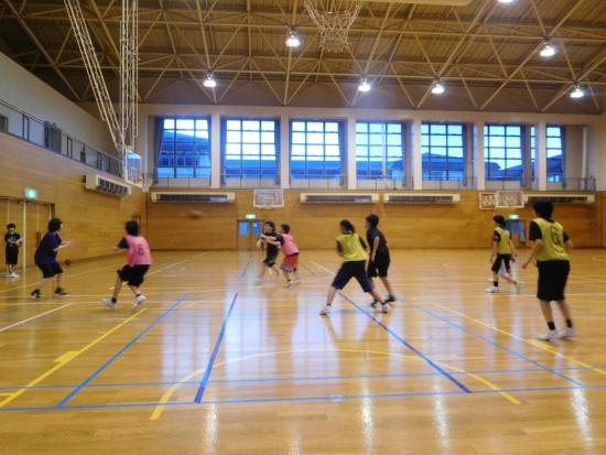バスケ練習 001