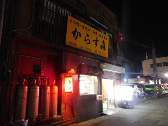 秋田駅前からす森 019