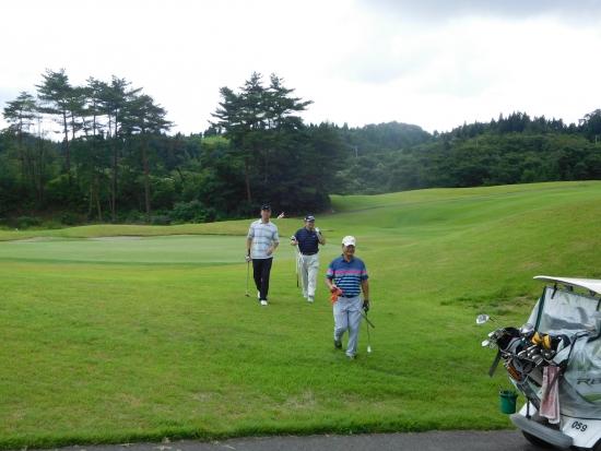 八郎潟ゴルフ 012