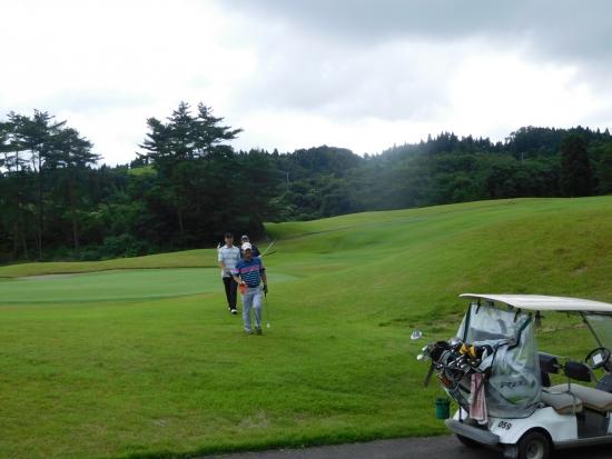 八郎潟ゴルフ 011
