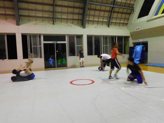 レスリング練習 022