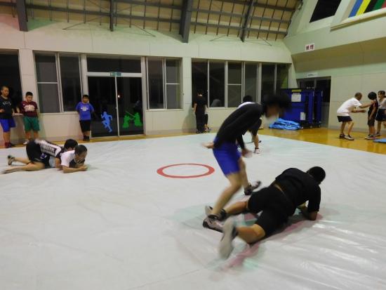 レスリング練習 005