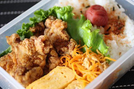 鶏唐揚げ弁当2