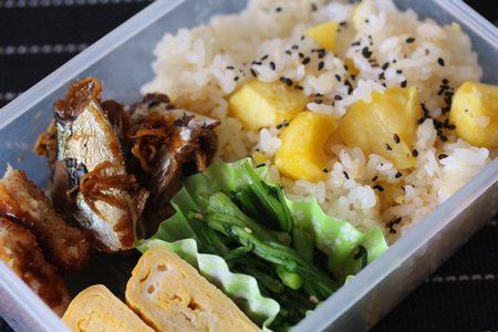 栗ご飯弁当2