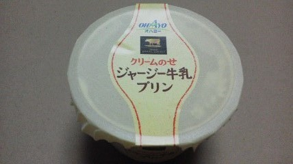 オハヨー「ジャージー牛乳プリン」