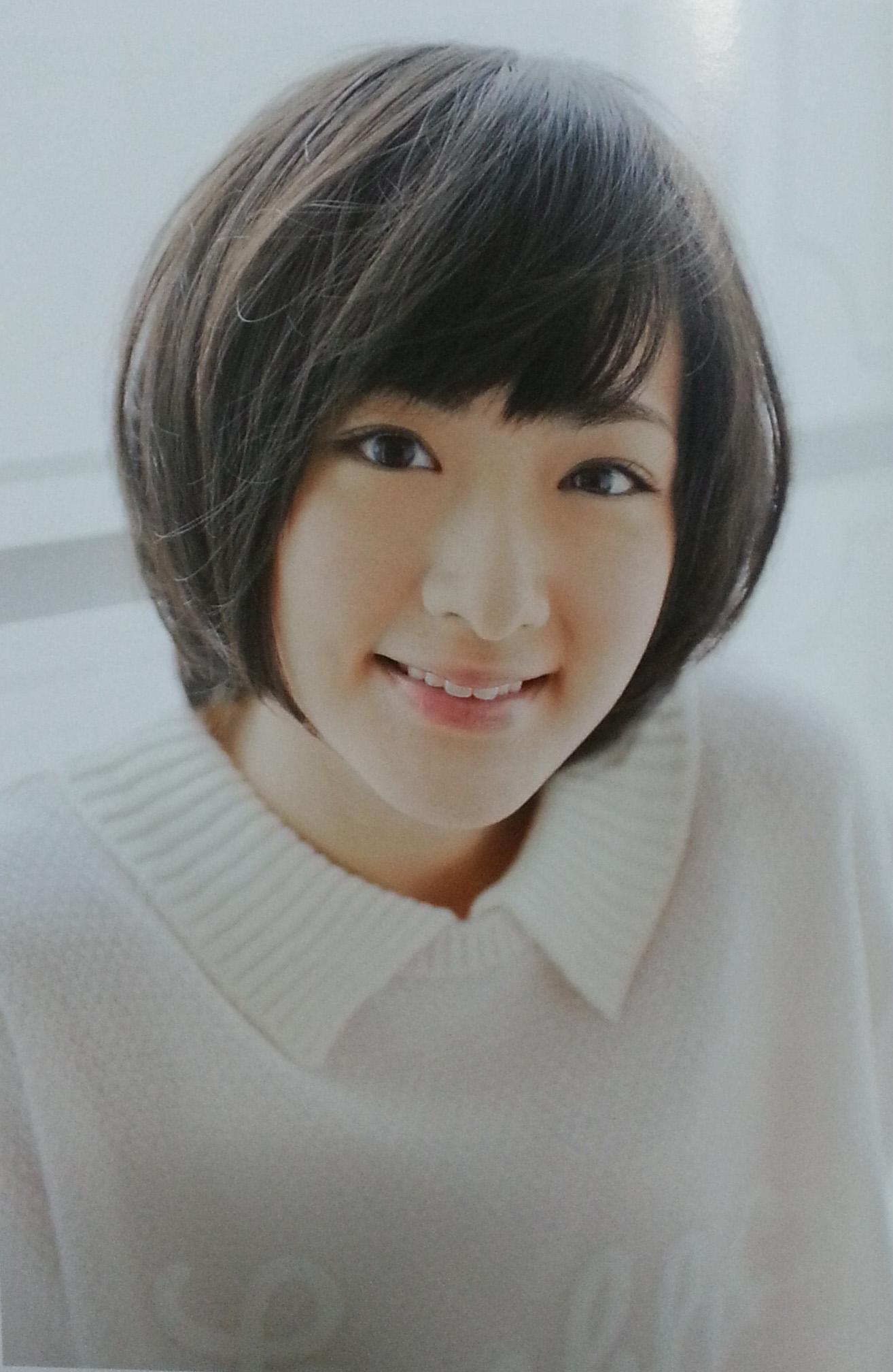 生駒ちゃん笑顔