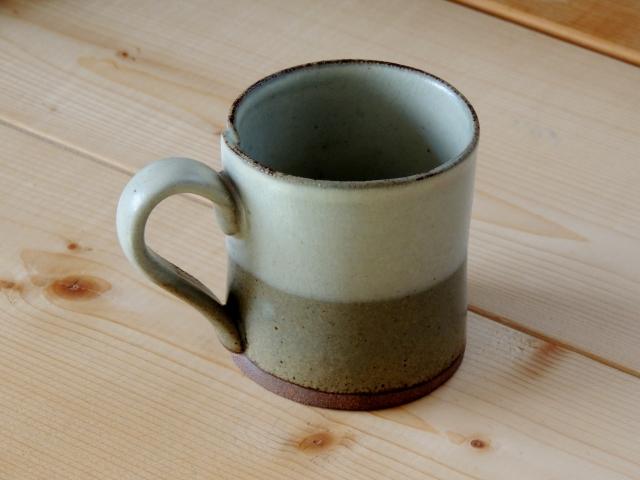 N8397丹波焼のコーヒーカップ