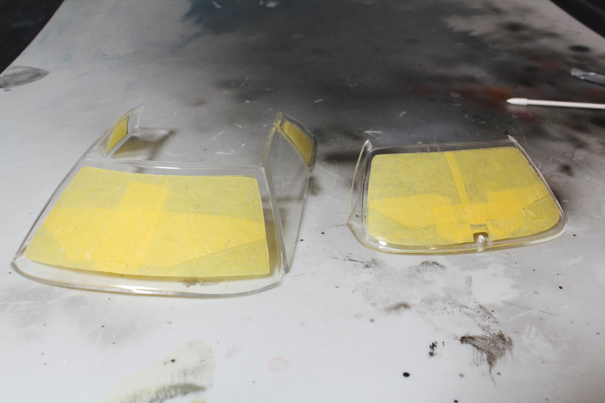 R32窓周囲塗装マスキング2