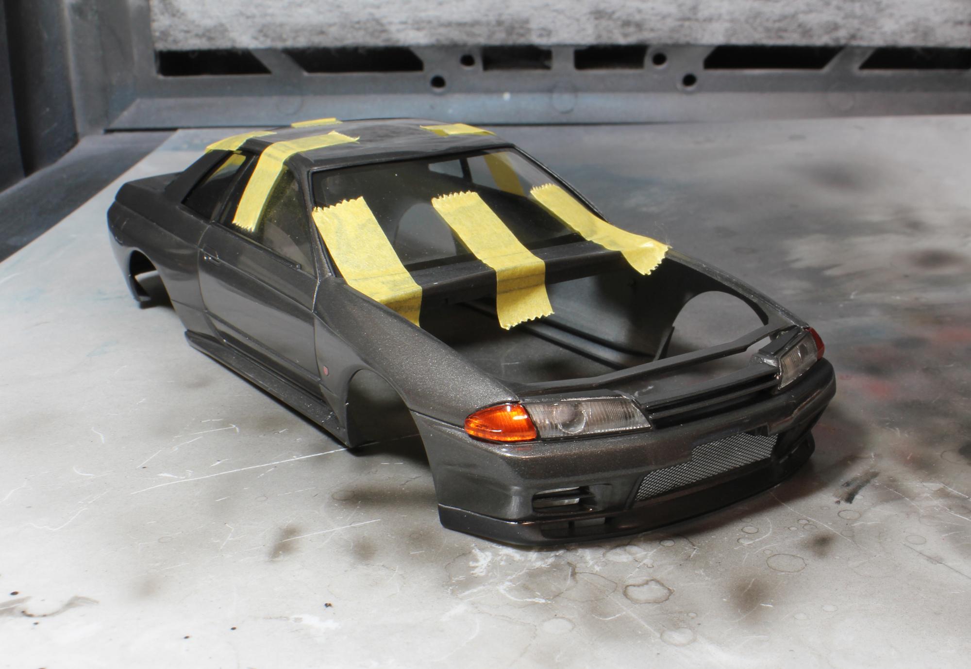 R32外装仕上げ