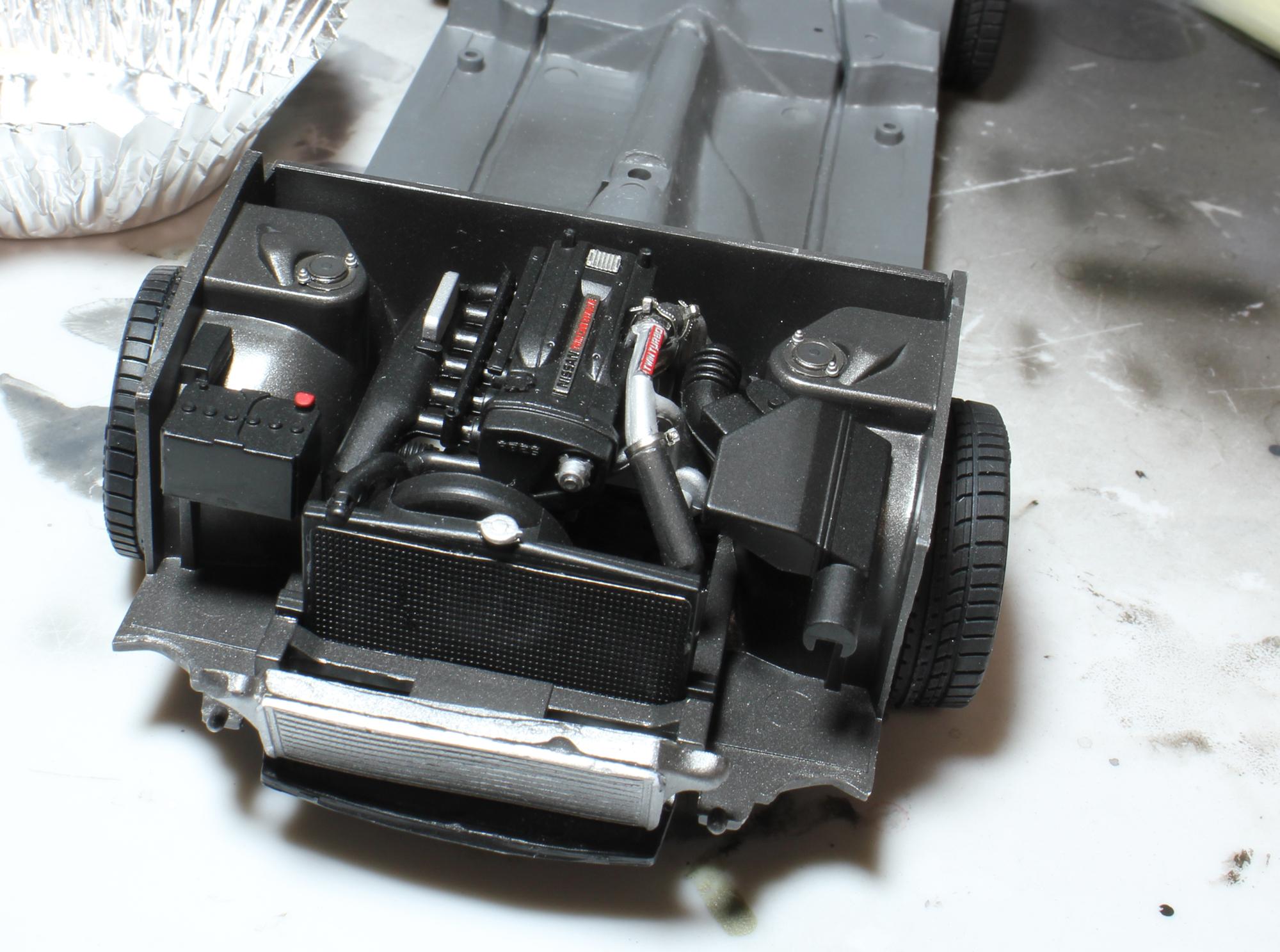 R32エンジンディテールアップ後