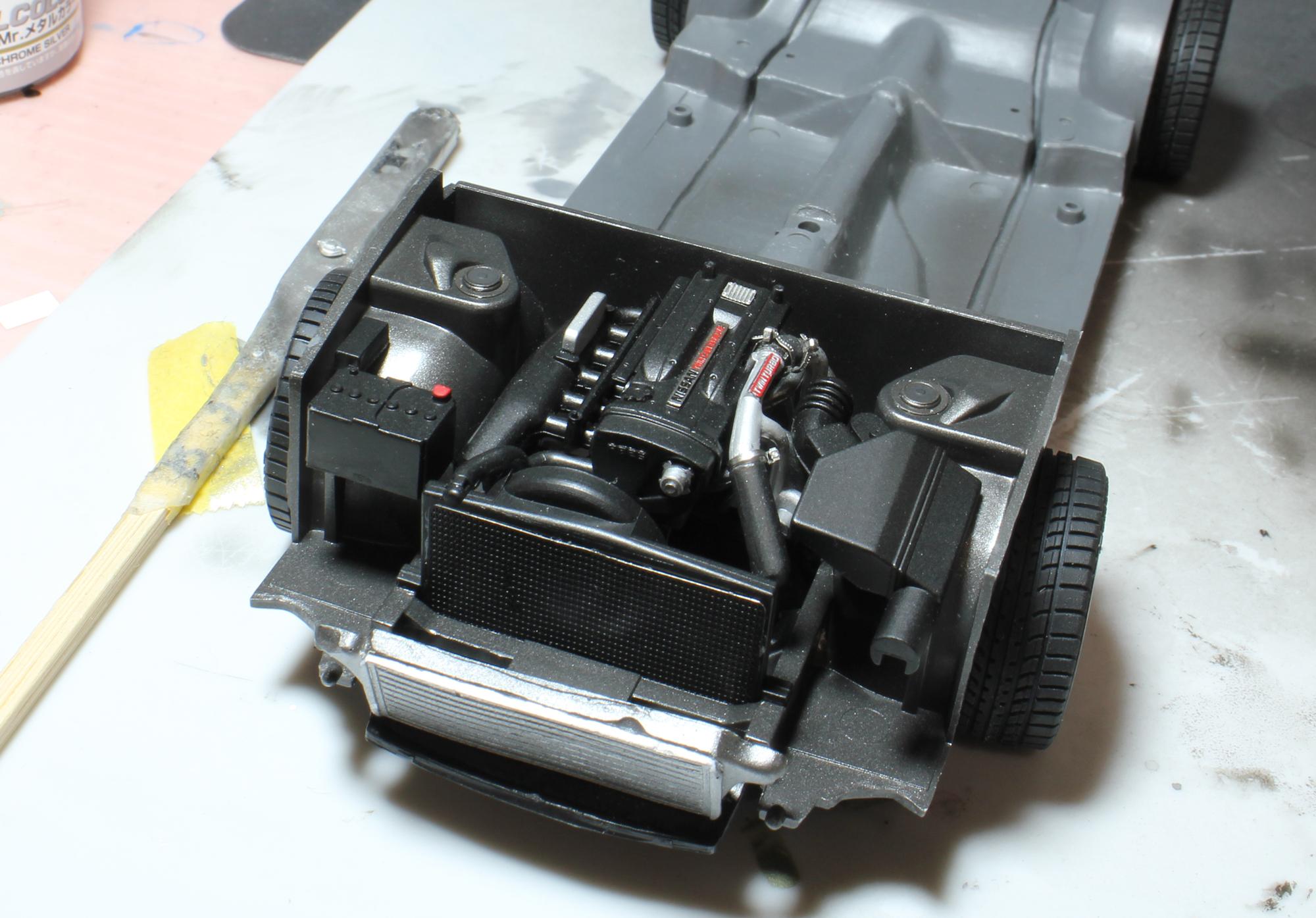 R32エンジンディテールアップ前