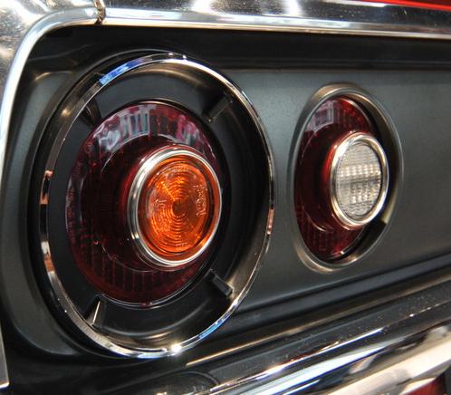 ケンメリ実車テールランプ