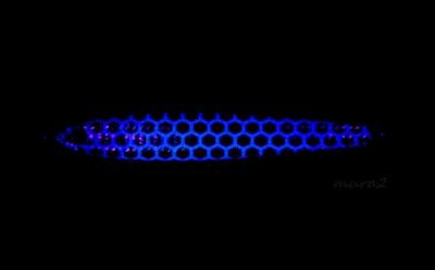 ケイムラタイプ紫外線照射時