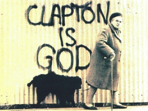 clapton is god