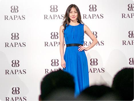 RAPAS 水素水 ケイ素水(シリカ) 発表会 道端ジェシカさん