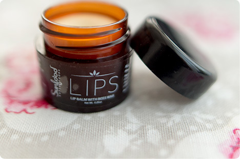 サンフードのリップバーム Sunfood, Lips, Lip Balm With Bees Wax