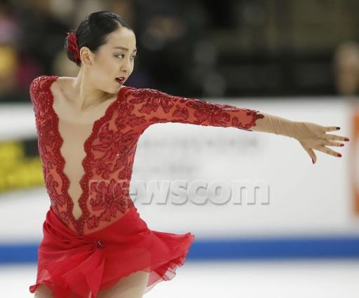 浅田真央スケートアメリカFS