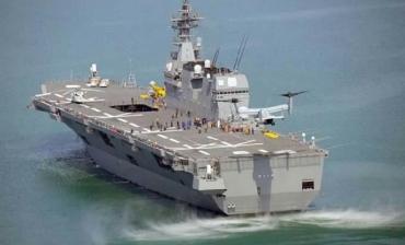 熊本地震災害派遣DDH-181JDS Hyūga 海上自衛隊ひゅうが型護衛艦Japan Maritime Self-Defense Force (JMSDF)帝国海軍伊勢型戦艦「航空戦艦」日向MV-22BオスプレイBell Boeing V-22 Osprey V-22魚鷹式傾轉旋翼機