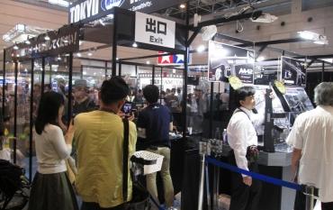 2016 第55回静岡ホビーショー 東京マルイ Tokyo Marui エアソフトガン新製品 KSG AA-12 HK416C カスタムバージョン M4パトリオットHC ショートカービンピストル M4A1 MWS グロック34 MP7A1 U.S.M9 M870ウッドストックタイプ HK USP HK45タクティカル M870 Breacher ・ブリーチャー サバゲ