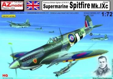 スーパーマリン スピットファイア (Supermarine Spitfire) Mk. IXc ピエール・アンリ・クロステルマン Pierre Henri Clostermann自伝 撃墜王(LE GRAND CIRQUE)