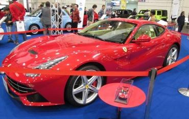 フェラーリGTC4ルッソ(Ferrari GTC4 Russo)330GTC 356GTC 250GTCルッソ・フェラーリFF(Ferrari FF Ferrari Four)ポルシェ(Porsche A.G.)パナメーラ(Panamera )2016 PREMIUM WORLD MOTOR FAIR プレミアムワールド・モーターフェアツインメッセ輸入車ショー