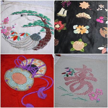 母の日本刺繍1