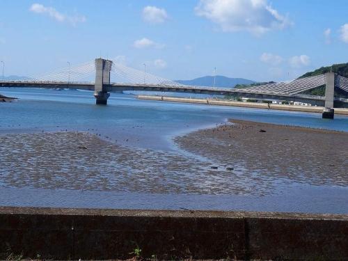 星野富弘美術館がある 芦北町の海に架かる美しい橋DSC02650